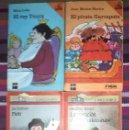 Libros de segunda mano: EL BARCO DE VAPOR 4 LIBROS: PIOTR / EL PIRATA GARRAPATA LA VOCACIÓN DE J. BURKINSHAW / EL REY TÚNIX. Lote 117264467