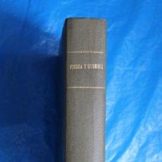 Libros de segunda mano: FISICA, QUIMICA, CIENCIAS NATURALES, GEOLOGIA, PETROLOGIA, ZOOLOGIA, BIOLOGIA EN GENERAL,. Lote 117280727