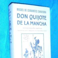 Libros de segunda mano: CERVANTES, DON QUIJOTE DE LA MANCHA · GALAXIA GUTENBERG · 1998 NUEVA EDICIÓN ANOTADA. Lote 117334903