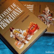 Libros de segunda mano: DUMAS, EL VIZCONDE DE BRAGELONNE · BRUGUERA 1972 1ª · T: FERMÍN MUÑOZ. Lote 117362155
