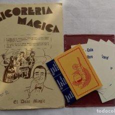 Libros de segunda mano: LIBRERIA GHOTICA. EL DRAC MAGIC. LICORERIA MAGICA. ALEIX BADET. INSTRUCCIONES Y OBJETOS.1981. Lote 117380251