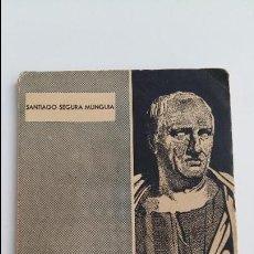 Libros de segunda mano: COLECCION HOMBRES Y OBRAS. CICERON DE RE PUBLICA. M TULLII CICERONIS. 1º EDICION 1958. . Lote 117514763