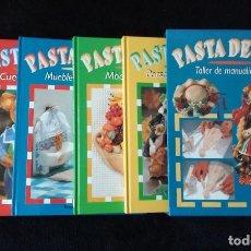 Libros de segunda mano: PASTA DE SAL. TALLER DE MANUALIDADES. 4 TOMOS. NICOLE KRAEHN Y BRIGITTE CASAGRANDA. HYMSA. Lote 117516895
