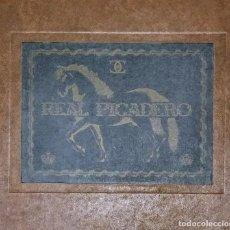 Libros de segunda mano: REAL PICADERO: LÁMINAS DE EQUITACIÓN GRABADAS EN EL SIGLO XVIII - HÍPICA - CABALLOS - EQUITACIÓN. Lote 117618115