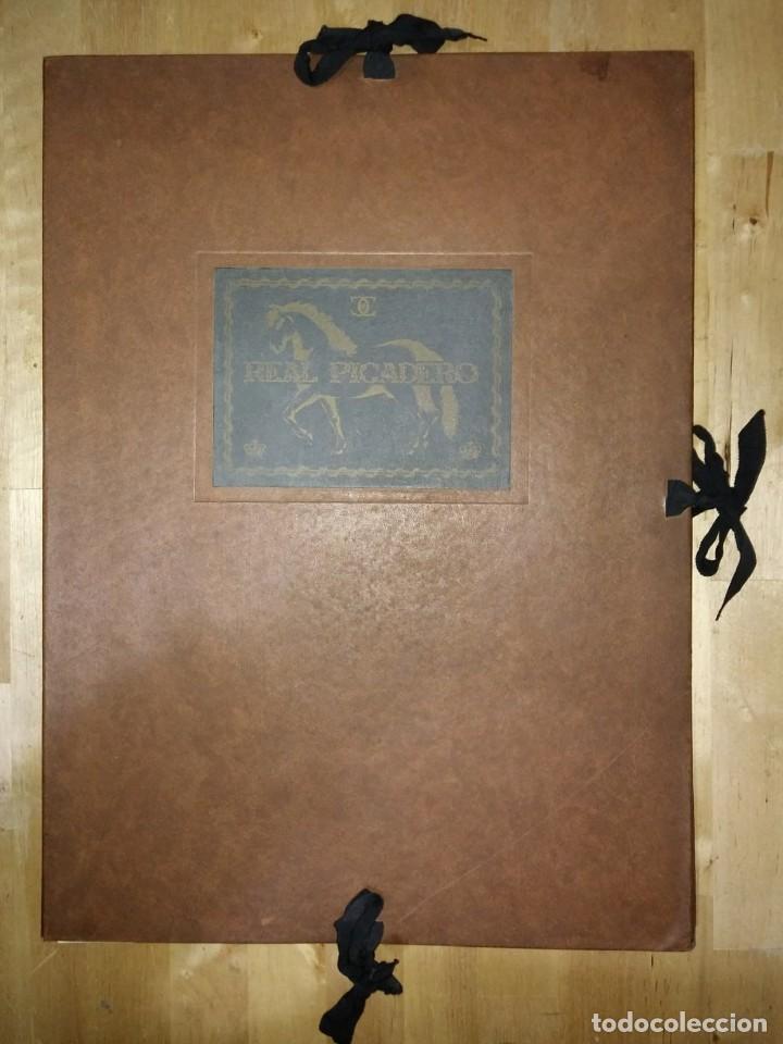 Libros de segunda mano: REAL PICADERO: Láminas de equitación grabadas en el siglo XVIII - hípica - caballos - equitación - Foto 5 - 117618115