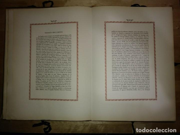 Libros de segunda mano: REAL PICADERO: Láminas de equitación grabadas en el siglo XVIII - hípica - caballos - equitación - Foto 8 - 117618115