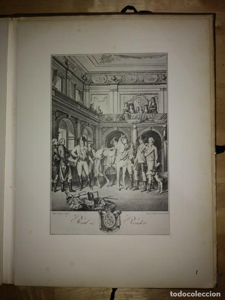 Libros de segunda mano: REAL PICADERO: Láminas de equitación grabadas en el siglo XVIII - hípica - caballos - equitación - Foto 24 - 117618115
