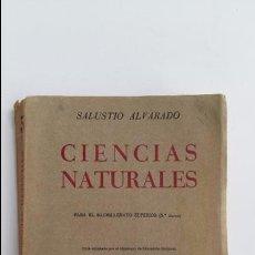 Libros de segunda mano: CIENCIAS NATURALES. SALUSTIO ALVARADO. PARA EL BACHILLERATO SUPERIOR. 5º CURSO. 1967. Lote 117622243