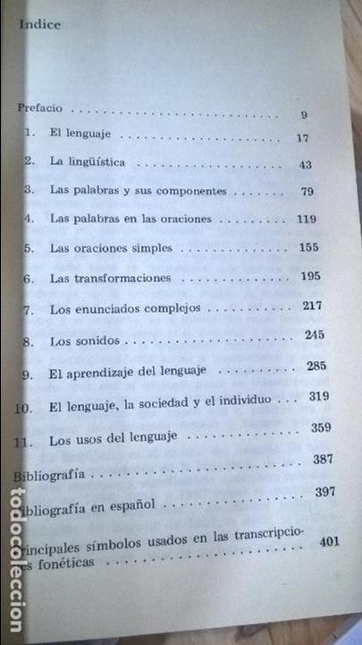 Libros de segunda mano: ROGER FOWLER. PARA COMPRENDER EL LENGUAJE: UNA INTRODUCCION A LA LINGUISTICA.NUEVA IMAGEN 1978. - Foto 2 - 117706631