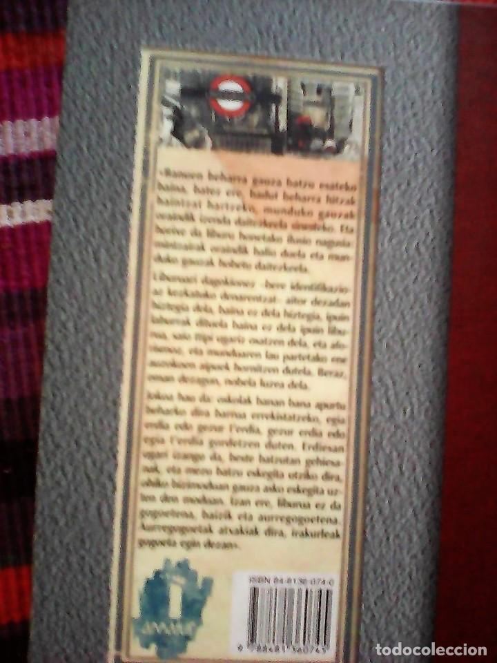 Libros de segunda mano: HITZEN ONDOEZA JOSEBA SARRIONANDIA TXLAPARTA 1997 - Foto 2 - 117717311