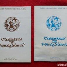 Libros de segunda mano: TUBAL CUADERNOS DE POESIA NUEVA 20 21 1982 21 CM 300 GRS 1982. Lote 117722555