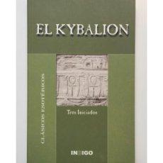 Libros de segunda mano: EL KYBALION. Lote 117743768