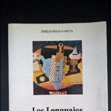 Libros de segunda mano: LOS LENGUAJES DE LA PUBLICIDAD. EMILIO FELIU GARCIA. UNIVERSIDAD DE ALICANTE 1984.. Lote 117761759