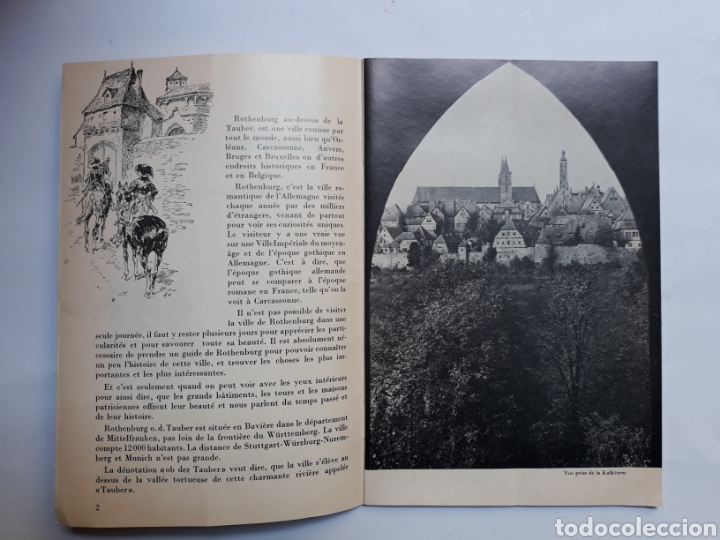 Libros de segunda mano: Libros Alemania Rothenburg ob Der Tauler GUIDE 1969 - Foto 4 - 117806928
