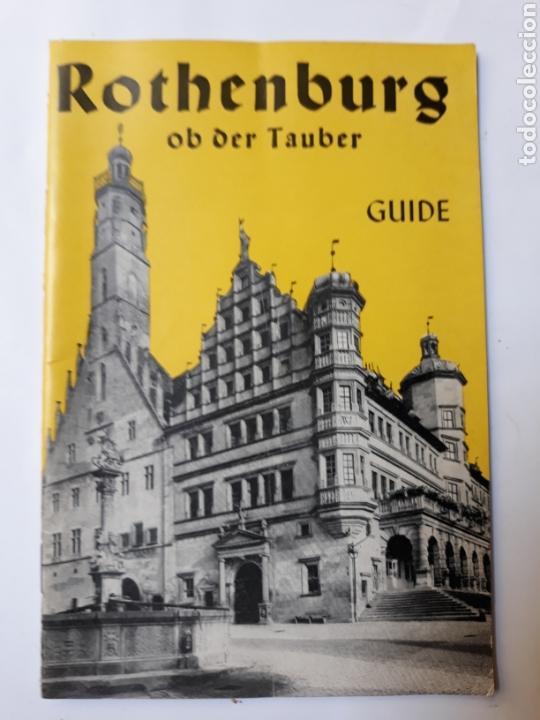 LIBROS ALEMANIA ROTHENBURG OB DER TAULER GUIDE 1969 (Libros de Segunda Mano - Bellas artes, ocio y coleccionismo - Otros)
