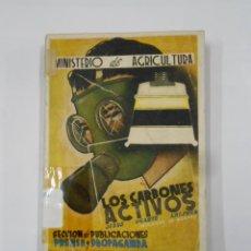 Libros de segunda mano: LOS CARBONES ACTIVOS. JESUS UGARTE LAISECA. MINISTERIO DE AGRICULTURA. TDK325B. Lote 117853123