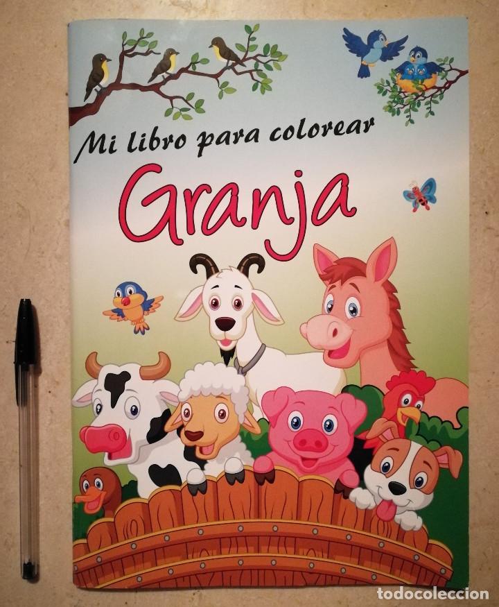libro para colorear mi granja - infantil - anim - Comprar en ...