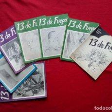 Libros de segunda mano: TUBAL 13 DE FUEGO REVISTA DE POESIA 0 1 2 4 5 8 Y 9 23 CM 450 GRS. Lote 117894111