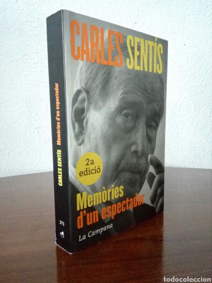 MEMORIES D'UN ESPECTADOR - CARLES SENTÍS - LA CAMPANA (Libros de Segunda Mano - Pensamiento - Otros)