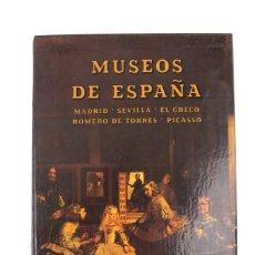 Libros de segunda mano: L-2273. MUSEOS DE ESPAÑA. EDITORIAL EVEREST. AÑO 1984. VOLUMEN II.. Lote 117920055