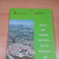 Libros de segunda mano: - RARO ATLAS DEL MEDIO NATURAL DE LA REGION DE MURCIA - BUEN ESTADO . VER FOTOS . Lote 117929087