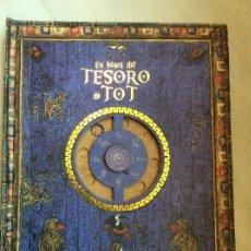 Libros de segunda mano: EN BUSCA DEL TESORO DE TOT EDELVIVES LIBRO JUEGO. Lote 117939343