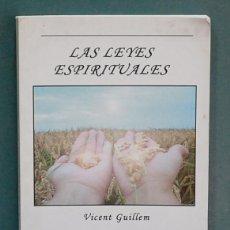 Livros em segunda mão: LAS LEYES ESPIRITUALES. VICENT GUILLEN. Lote 117943419
