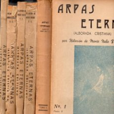 Libros de segunda mano: HILARION DE MONTE NEBO : ARPAS ETERNAS - 5 TOMOS (FRATERNIDAD UNIVERSAL. 1950) ESPIRITISMO. Lote 117983803