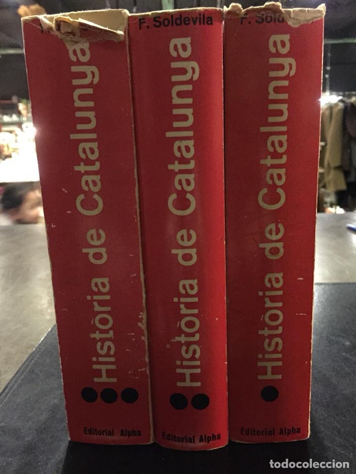 HISTORIA DE CATALUNYA.FERRAN SOLDEVILA (Libros de Segunda Mano - Historia - Otros)