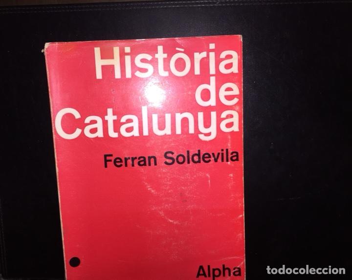 Libros de segunda mano: Historia de catalunya.Ferran Soldevila - Foto 3 - 118008838