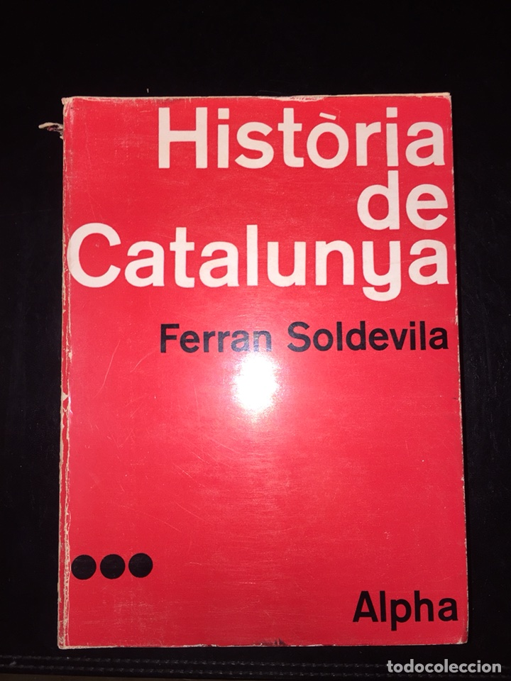 Libros de segunda mano: Historia de catalunya.Ferran Soldevila - Foto 4 - 118008838