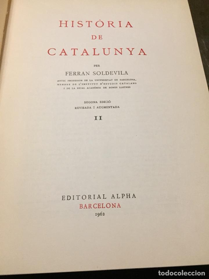 Libros de segunda mano: Historia de catalunya.Ferran Soldevila - Foto 6 - 118008838