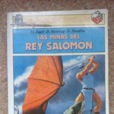 Libros de segunda mano - Las minas del Rey Salomón (1988) / M. Pagel, D. Monrocq, D. Headline. Saga del Cruzado. Plaza Joven. - 118054867