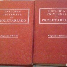 Libri di seconda mano: HISTORIA UNIVERSAL DEL PROLETARIADO. Lote 118096812
