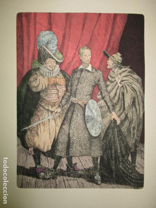 Libros de segunda mano: EL RUFIÁN DICHOSO. CERVANTES SAAVEDRA, Miguel de. 1956. AGUAFUERTES DE CAPMANY. BIBLIOFILIA. - Foto 6 - 118139299