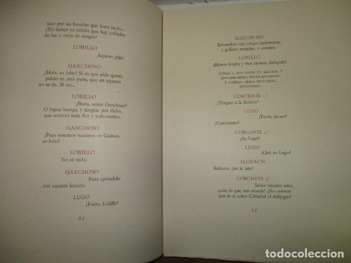 Libros de segunda mano: EL RUFIÁN DICHOSO. CERVANTES SAAVEDRA, Miguel de. 1956. AGUAFUERTES DE CAPMANY. BIBLIOFILIA. - Foto 9 - 118139299