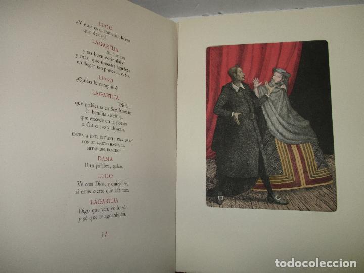 Libros de segunda mano: EL RUFIÁN DICHOSO. CERVANTES SAAVEDRA, Miguel de. 1956. AGUAFUERTES DE CAPMANY. BIBLIOFILIA. - Foto 10 - 118139299