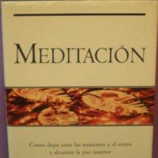 Libros de segunda mano: MEDITACIÓN - BRIAN WEISS . Lote 118149775