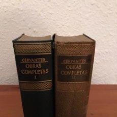 Libros de segunda mano: OBRAS COMPLETAS DE CERVANTES. EDITORIAL JUVENTUD.. Lote 118178423