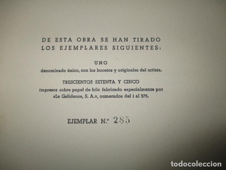 Libros de segunda mano: HISTORIA DEL REAL MONASTERIO DE POBLET. FINESTRES Y DE MONSALVO, Jaime. 6 VOLS. 1947-49. - Foto 4 - 118178683