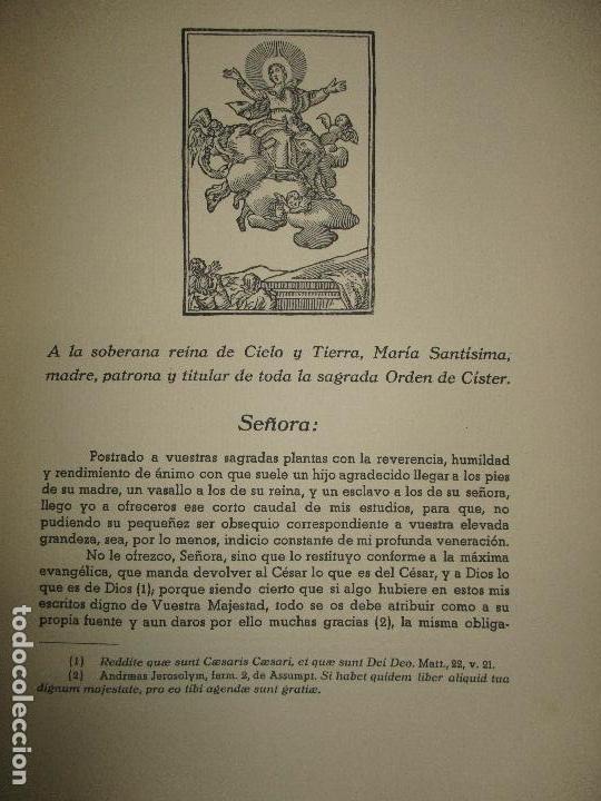 Libros de segunda mano: HISTORIA DEL REAL MONASTERIO DE POBLET. FINESTRES Y DE MONSALVO, Jaime. 6 VOLS. 1947-49. - Foto 5 - 118178683