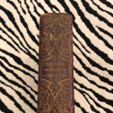 Libros de segunda mano: MIGUEL DE CERVANTES, OBRAS COMPLETAS, M AGUILAR, MADRID. Lote 118241644