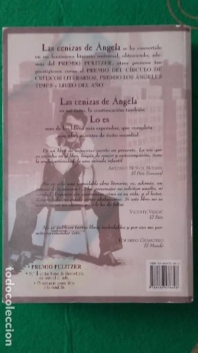Libros de segunda mano: las cenizas de angela 41 edicion - Foto 2 - 118263019