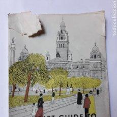 Libros de segunda mano: LIBROS INGLATERRA - TOURIT GUIDE TOMÓ GLASGOW. Lote 118278012