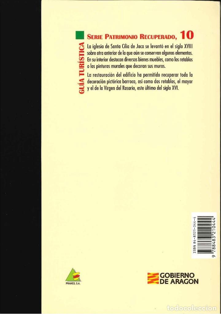Libros de segunda mano: SANTA CILIA DE JACA IGLESIA PARROQUIAL ANA ISABEL LA PEÑA - Foto 2 - 118327035