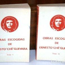 Libros de segunda mano: OBRAS ESCOGIDAS 2T POR ERNESTO CHÈ GUEVARA DE EDITORIAL FUNDAMENTOS EN MADRID 1977. Lote 118348675