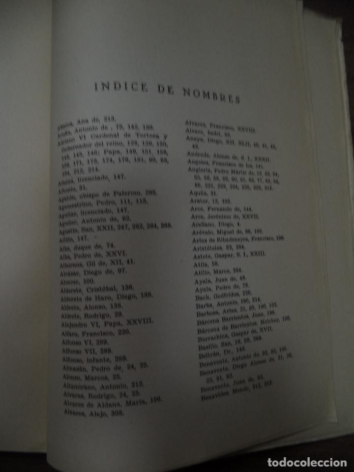 Libros de segunda mano: DIEGO RAMIREZ VILLAESCUSA ( 1459-1537). POR FELIX G. OLMEDO, S.I.. HUMANISTAS Y PEDAGOGOS. 1944. - Foto 3 - 118424927