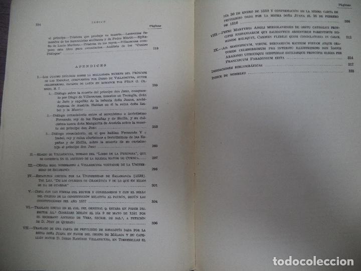 Libros de segunda mano: DIEGO RAMIREZ VILLAESCUSA ( 1459-1537). POR FELIX G. OLMEDO, S.I.. HUMANISTAS Y PEDAGOGOS. 1944. - Foto 9 - 118424927