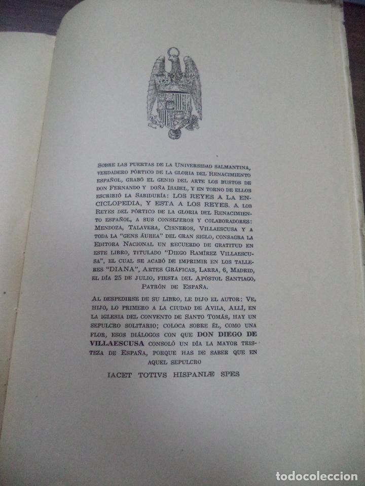 Libros de segunda mano: DIEGO RAMIREZ VILLAESCUSA ( 1459-1537). POR FELIX G. OLMEDO, S.I.. HUMANISTAS Y PEDAGOGOS. 1944. - Foto 10 - 118424927