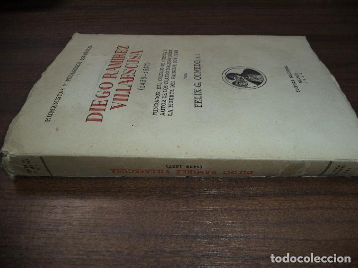 Libros de segunda mano: DIEGO RAMIREZ VILLAESCUSA ( 1459-1537). POR FELIX G. OLMEDO, S.I.. HUMANISTAS Y PEDAGOGOS. 1944. - Foto 12 - 118424927
